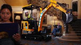 JCB minio excavator