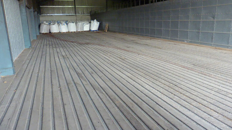 S9846 WELVENT Full Drive on floor for Shed 140 FT long